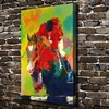 A1814 LeRoy Neiman Abstract Horse Racing Knight HD Canvas Print Home Decoration Living Room Bedroom Wall