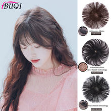 BUQI Women Seamless Invisibility Comfortable of True Hair Top Cover Brown and Black Color Brazilian Remy Hair(China)