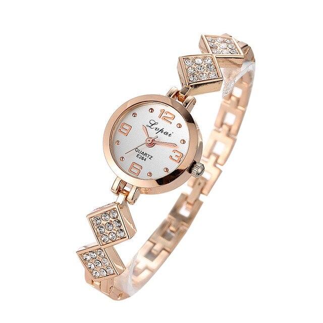 2019 Relogio feminino Quartz Bracelet Watches Fashion Ladies Women Unisex Stainl