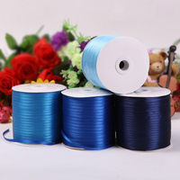 PPCrafts 1 16 2 3 5 6mm Double Face Polyester Satin Ribbon For Handmade Gift Wrap