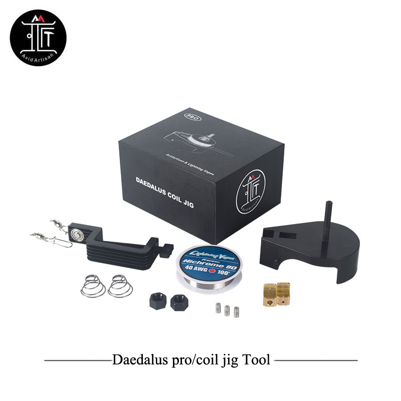 Original Avidartisan Daedalus Coil DIY Tool Daedalus pro kit Diy RDA RDTA Tank build Clapton wire Vs Coil Master Accessory