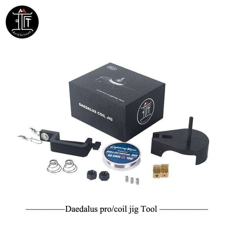 Original Avidartisan Daedalus Coil DIY Tool Daedalus Pro Kit Diy RDA RDTA Tank Build Clapton Wire Vs Coil Master Accessory