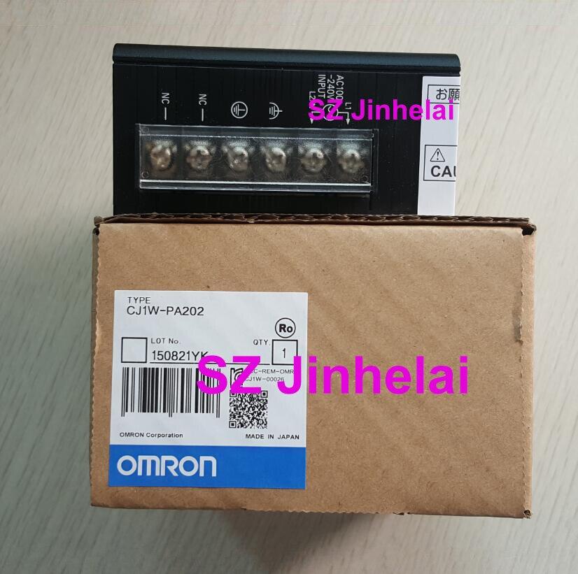 OMRON CJ1W PA202 Authentic original Power module unit