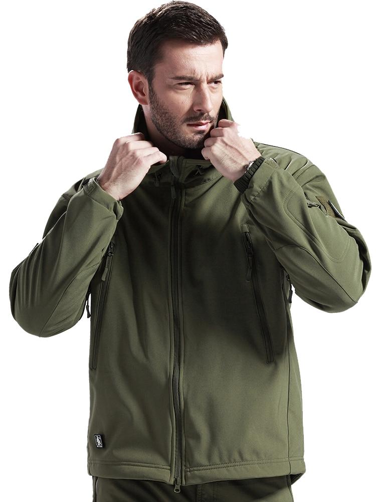Gelert Mens Softshell Hooded Jacket Coat Top Long Sleeve Zip