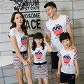 Семья соответствующий наряд мода семья одежда мать и дочь платье отец и сын одежды семья одежда BER06