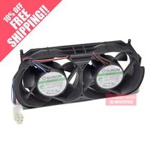 Новый встроенный вентилятор для XBOX360, толстый игровой корпус, улучшенный вентилятор с двумя вентиляторами