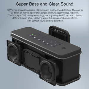 Image 3 - Tiso T12 30W lautsprecher ausgang 2,2 kanäle wireless Bluetooth V4.2 lautsprecher NFC AUX power bank zuhause sound subwoofer system