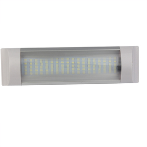 Image 2 - 12 v 24 v 해양 보트 rv에 대 한 16 w 밝은 자동차 인테리어 독서 스트립 화이트 라이트