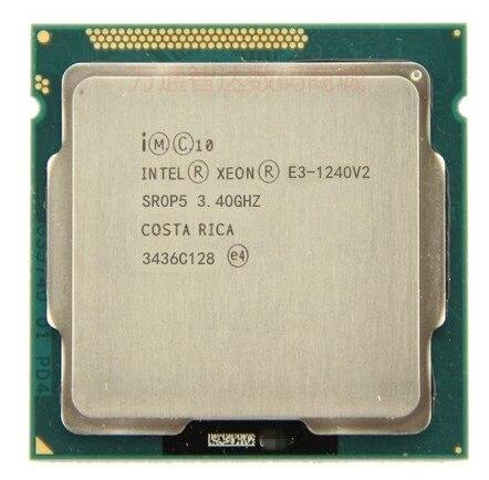 Intel Xeon E3 1240 V2 8 M Cache 3.40 GHz SR0P5 LGA1155 processeur d'unité centrale