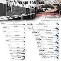 WHDZ PDR инструмент для град удаления PDR стержней Дент Съемник Slide Hammer Дент Lifter клеевой пистолет Нажмите Вниз