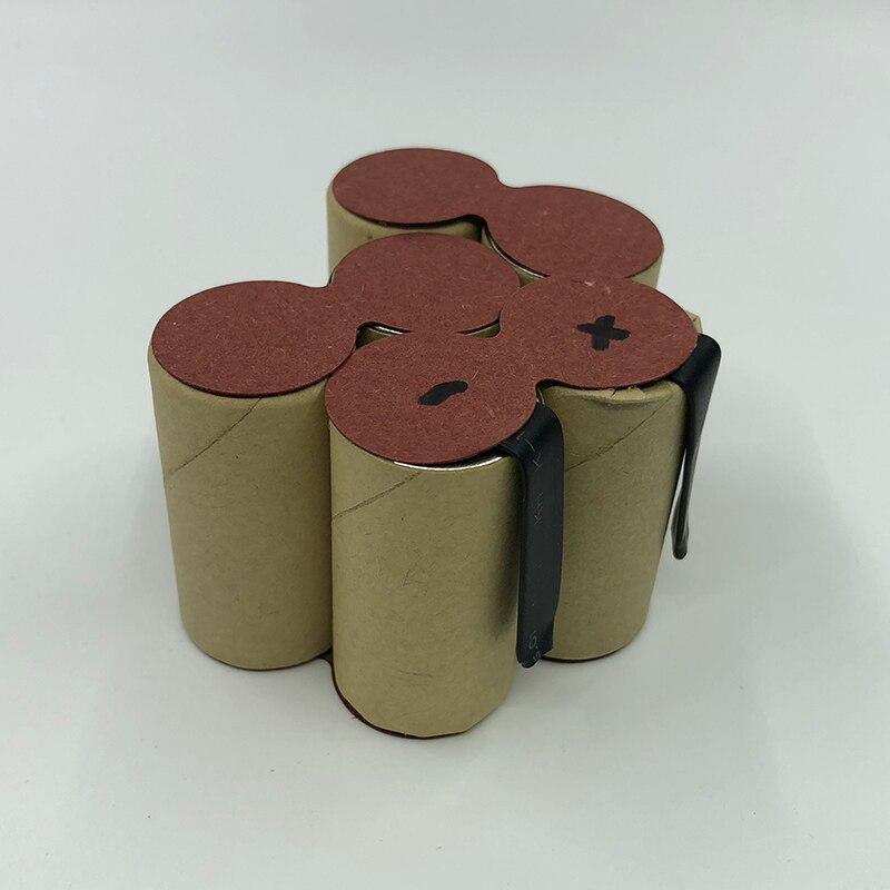 For Metabo 7.2V 3000mAh power tool battery pack 30069000 SC Ni MH