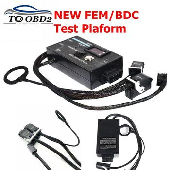 New Type Test Platform For BMW FEM&BDC Black Device For BMW F20 F30 F35 X5 X6 I3 both economical and convenient