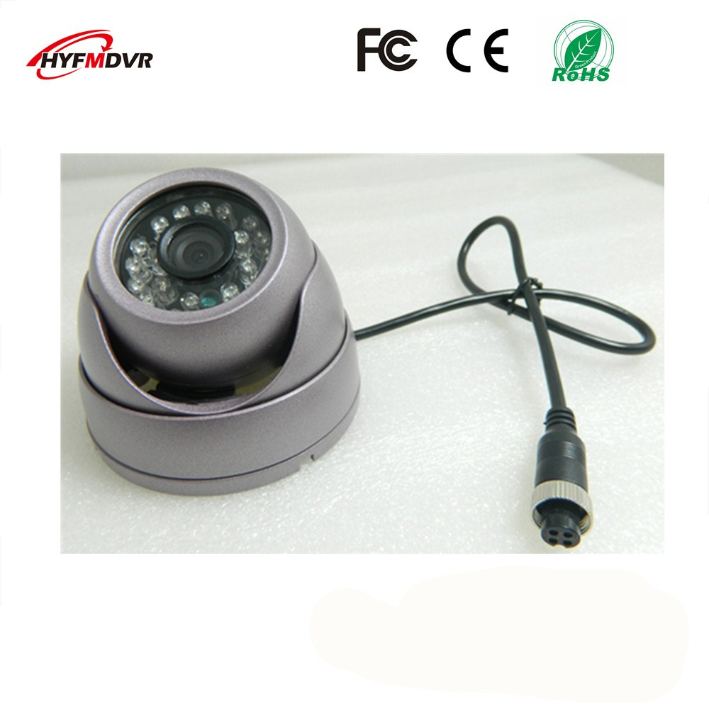 ahd1080p 720p 960p semi elliptical infrared night vision monitor head metal shell 12v wide voltage sony 600tvl taxi camera 3 inch SONY 600TVL camera metal shell 1080P/720P/960P purple conch hemisphere monitor probe 12V wide voltage
