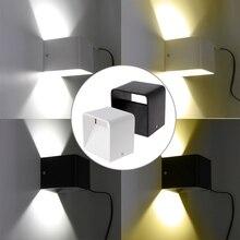 Настенный светильник светодиодный 5 Вт регулируемый интерьер спальни изголовье коридора настенный светильник