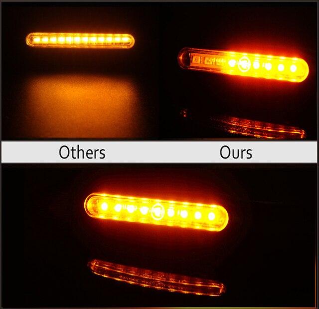 2PCS ไฟเลี้ยวรถจักรยานยนต์ไฟสัญญาณ E24 LED น้ำไหล Blinker Tail กระพริบไฟเลี้ยวยืดหยุ่น Bendable Flasher ไฟ 3