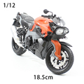 1:12 Simulación de Aleación de Juguetes Modelo de Motocicleta Diecast Metal Motocicleta K1300R amortiguador Regalo de Los Niños de Juguete de Modelo Para El Cabrito