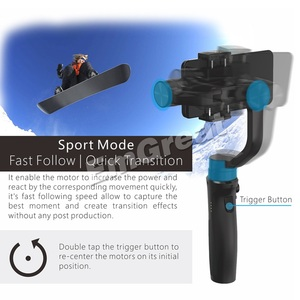 Image 2 - Hohem iSteady Mobile Plus 3 Axis Handheld Smartphone Gimbal Stabilizer for iPhone 11 Pro Max XS XR X Samsung S10 S9 Huawei Gopro