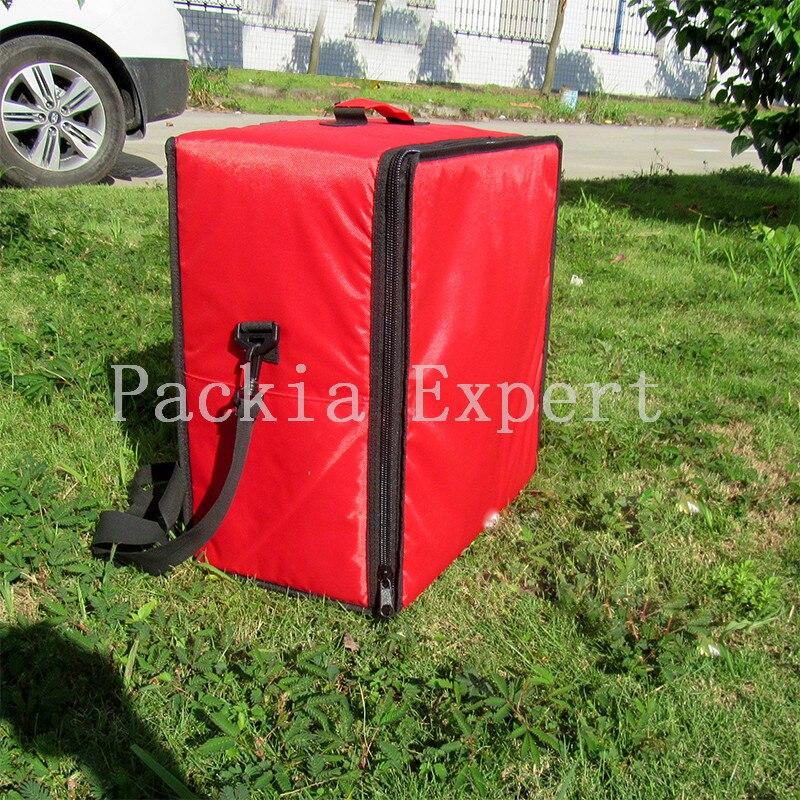 Sac d'isolation de sac à dos de 46*26*46 cm, sac de livraison de gâteau de livraison de paquet de nourriture, transporteur de nourriture, sac à emporter PKHS462646