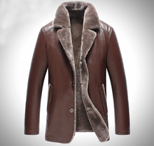 2017 New Genuine Natural Sheepskin Snow Coats Fashion Casual Designer Brand Fur Leather Fur Sleeve Jacket G0001