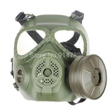 TACTICAL AIRSOFT PAINTBALL FULL FACE EMIRATES SKULL MASK MO4 GREEN-34153