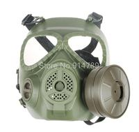 TACTICAL AIRSOFT PAINTBALL FULL FACE EMIRATES SKULL MASK MO4 GREEN 34153