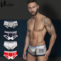 New 2017 Cheap Hot Sale Mr Panties Fashion Sexy Cotton Plus Size Loose Fat Male Underwears Solid Color Trunk Men's Boxer Shorts