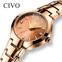 CIVO Fashion Elegant Womens Watches Waterproof Luxury Slim Ladies Wrist Watch St