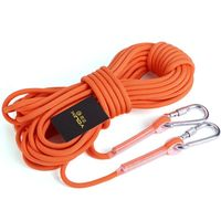 New 10M Professional Rock Climbing Rope Cord 9 5mm Diameter High Strength Cord Safety Rope Outdoor