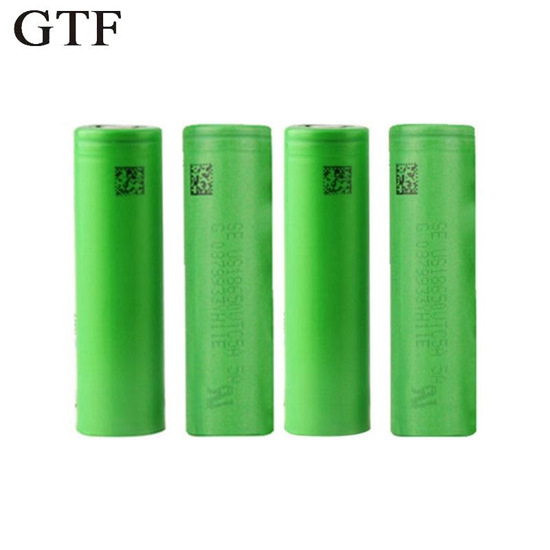 GTF 3,7 В <font><b>18650</b></font> 3000 мАч литий-ионные аккумуляторы <font><b>18650</b></font> <font><b>vtc6</b></font> 30A для электронных сигарет Vape инструменты фонарик