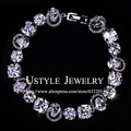 Permanent Light AAA+  Cubic Zirconia Stone Beautiful Bracelet for women (Ustyle UB0003)