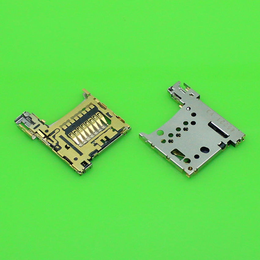 ChengHaoRan 1 Piece sim card socket reader holder tray slot replacement for Nokia 1520.KA-183