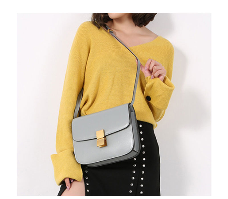 13cd5fa601af MK Genuine Leather Women Shoulder Bag Cowhide MK Crossbody Bags Handbags  Message Bags Girls Flap Lady Party Lock Purse 4 Colors. _01 _02 _03 _04 ...