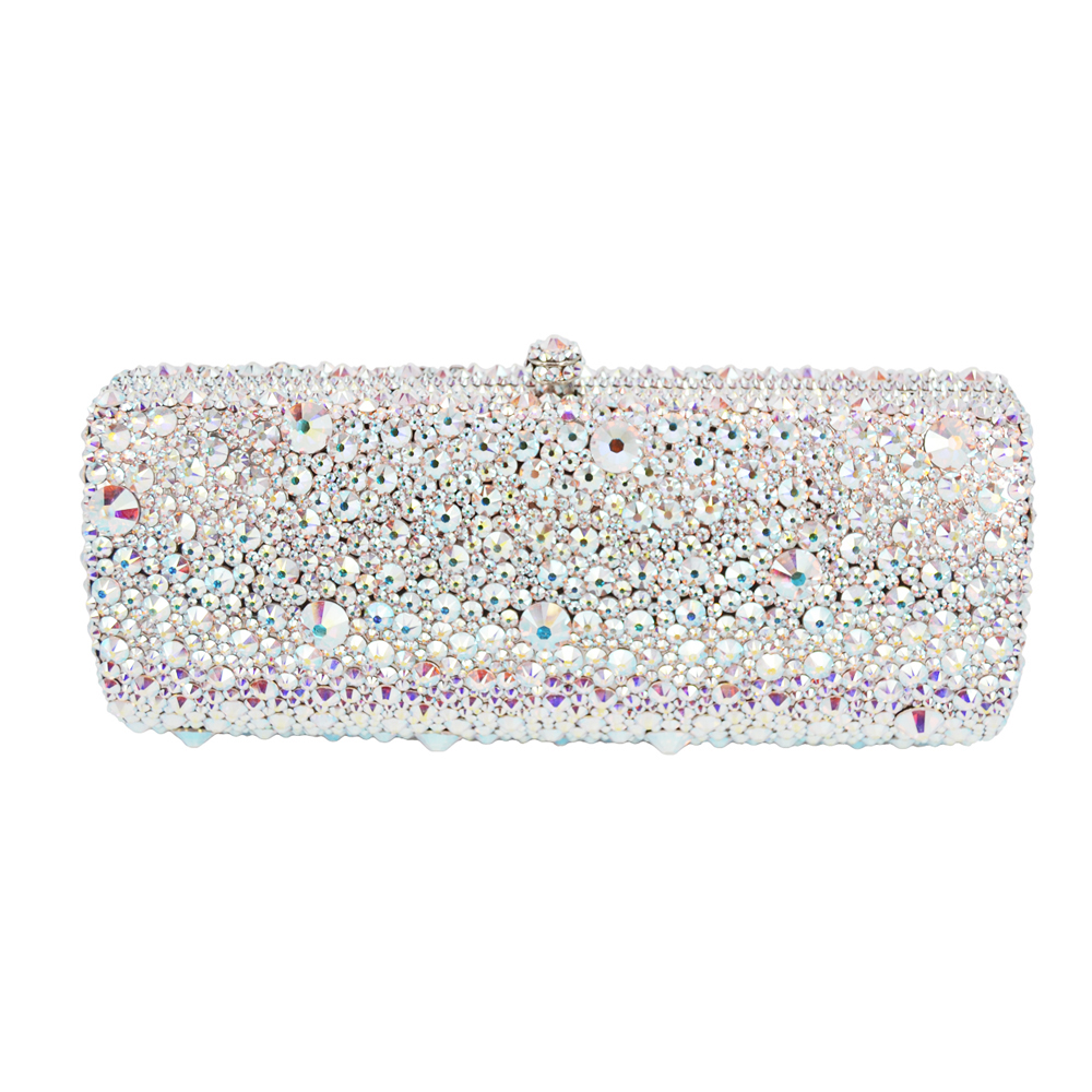 Australian crystal Luxury evening bag Bling party purse Top diamond Boutique Gold silver women wedding Day clutch bag as16 9 rose top fashion luxury diamond african handbag purse for party wedding