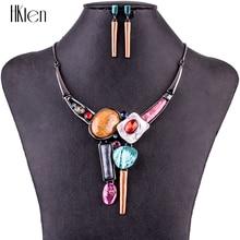 MS1504769, Модные Ювелирные наборы, высокое качество, колье, наборы для женщин, ювелирные изделия, разноцветные, кристалл, смола, уникальный дизайн, вечерние, подарок