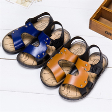 The NewChildrens beach sandalsPlastic boys shoesSummer childrens shoes Fashion Gladiator SandalKids rainy season
