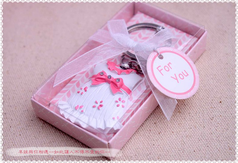 Baby Shower Party Favor Gifts For Guests Baby Boy Baby Girl Keychain Birthday Party Gift And Giveaways Presents 50pcs/lot 100% Original Party Favors
