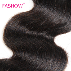 Image 4 - Fashow 8 34 36 38 40 inch Peruaanse Hair Weave Bundels Body Wave 100% Menselijk Haar 1/3 /4 bundels Natuurlijke Kleur Remy Hair Extensions In de uitverkoop
