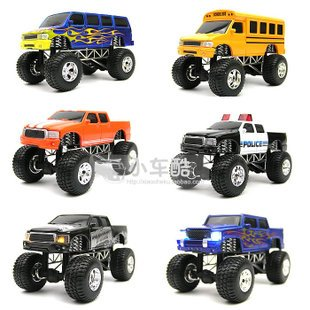 Shock Pull Back The Monster Truck Toy Part With Sound And Light Alloy Car Model Smart Jpg