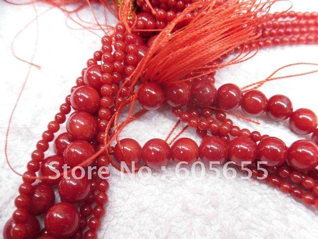Оранжевый Цвет море бамбук Коралл 6x9 мм ствола трубы риса Форма камень свободные Бусины 10strands за лот