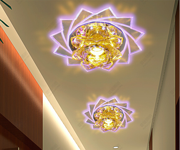 LED Crystal Ceiling Light 3W/ 5W Luxury Spot Light / Down Light