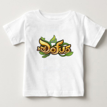 Children summer tops Casual T shirt dofus print boys 2018 kid t shirts girl Lovely short sleeve t shirt baby cotton tee 3T-8T  N lovely cozy baby girl tops shirt kids child toddler soft cotton fall t shirt tee