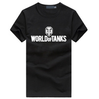 2016 Summer Style Funny World Of Tanks T Shirt Men Manufacture World War Ii Tank T
