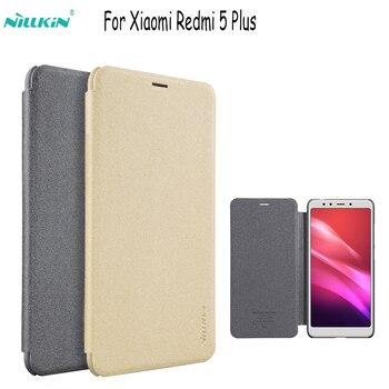 for xiaomi redmi note 6 Pro cover hard back cover NILLKIN PU leather case flip cover for xiaomi redmi 7 /note 5a/6a/ 6/5 plus