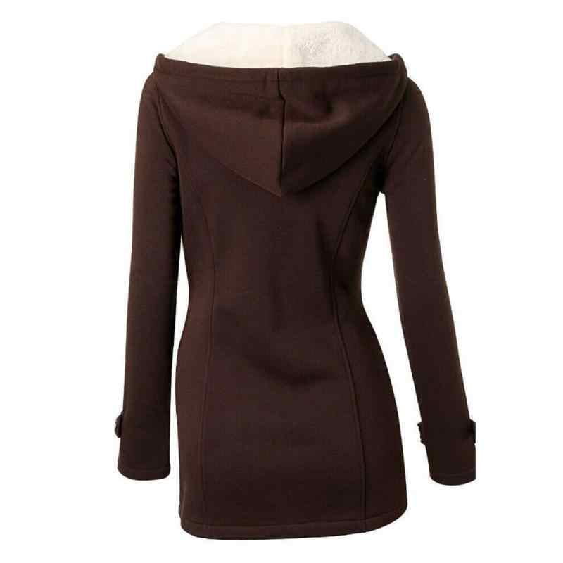 2018 Новый дизайн Горячая Распродажа женское Модное теплое пальто куртка верхняя одежда осень зима длинная парка пальто Топы кофе черный серый