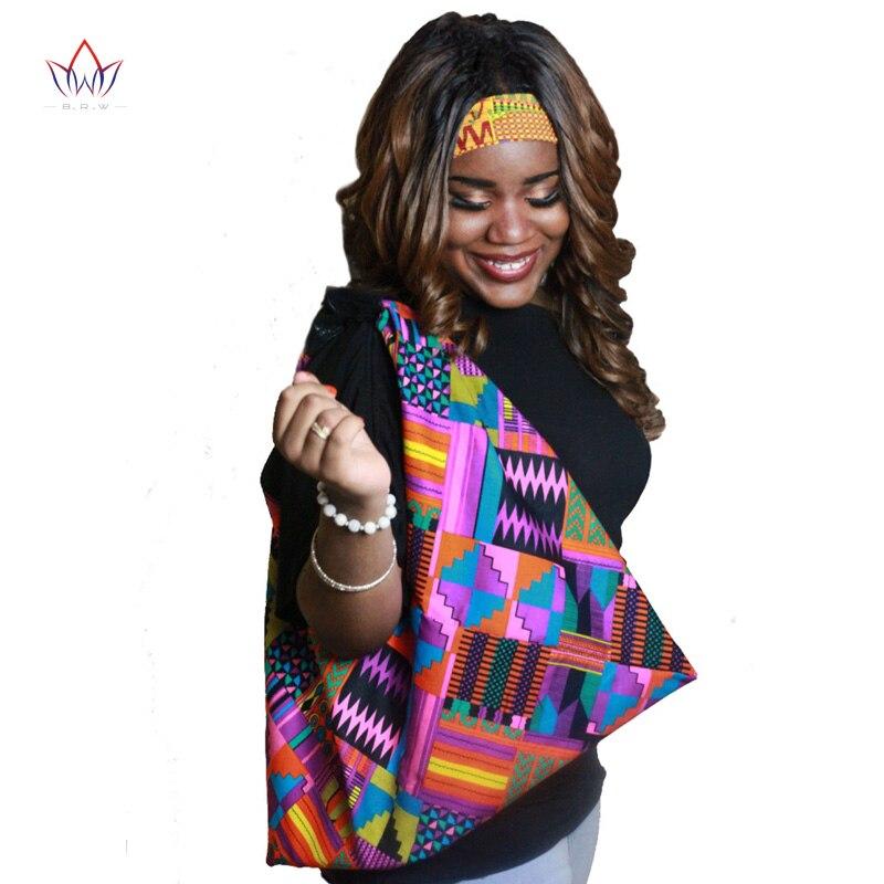 African Women Bags Multi-color Bazin Riche Bag African Jacquard Garment Fabric Handbags 100% Cotton African Bag SP045