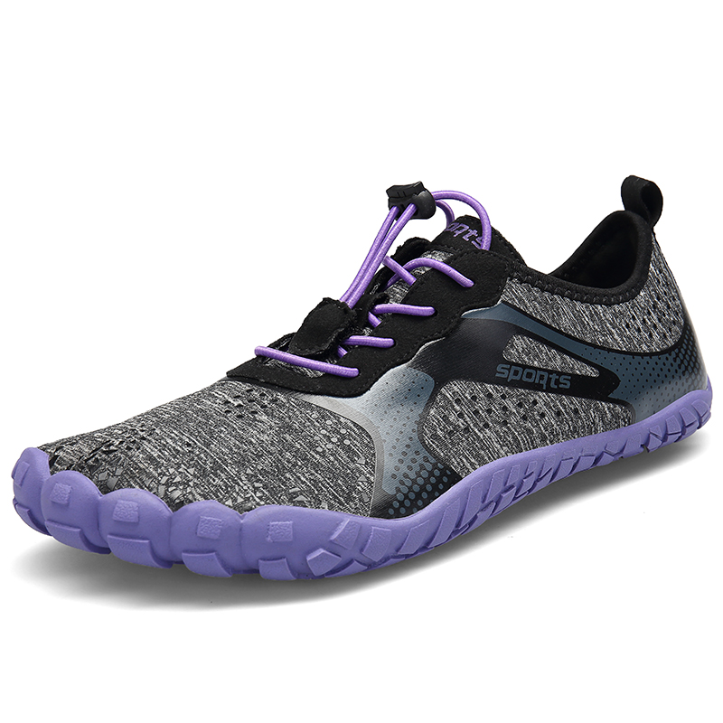 Zapatillas Deporte Mujer suela antideslizante Aqua zapatos secado rápido Zapatillas deportivas respirables al aire libre cinco dedos