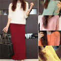 Womens Loose Sweater Round Neck Long Sleeve Pullover fads Jumper Tops