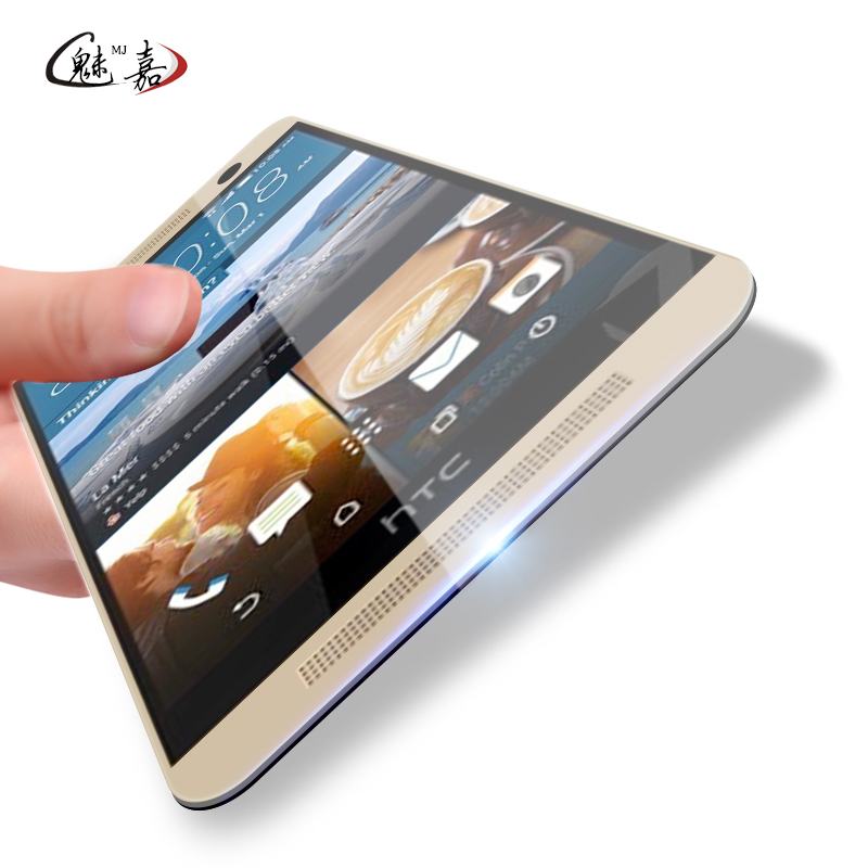2.5D 9H toughened tempered glass For HTC One M7 M8 M9 E8 E9 626 825 620 820 816 830 628 828 530 screen protector protection film