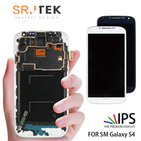 5.0'' IPS LCD For Samsung S4 Display Touch Screen with Frame GT i9505 Digitizer LCD For Samsung Galaxy S4 LCD Display Screen