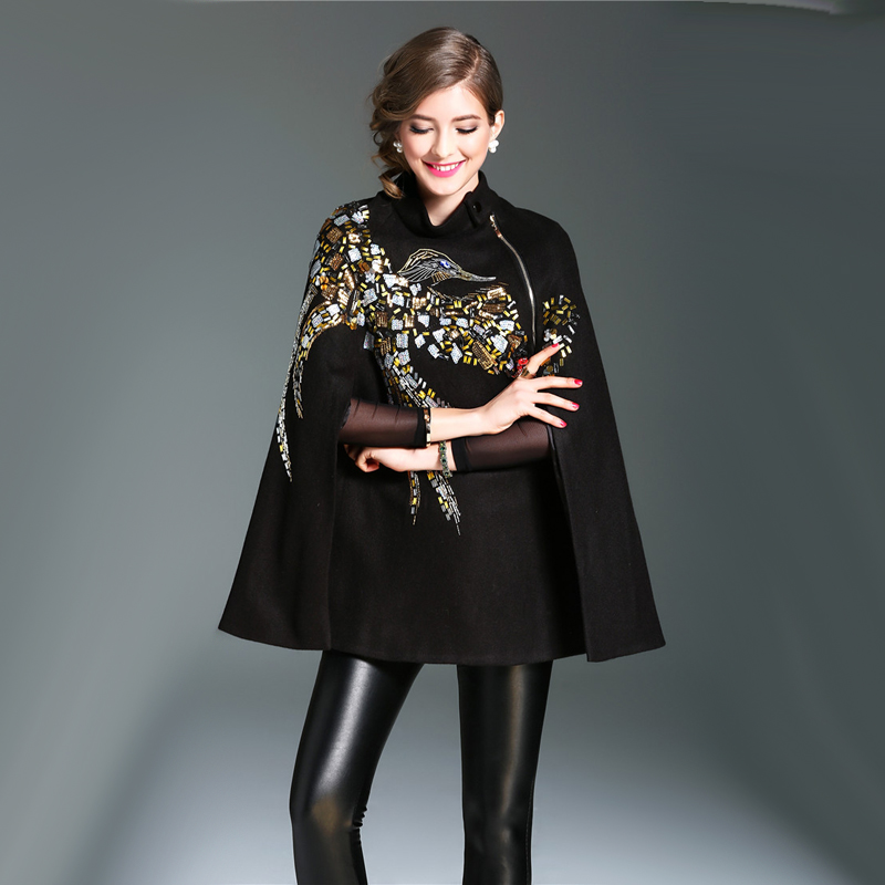 cape coat women Picture - More Detailed Picture about Free ...